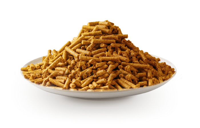 Farine fourragère granulée de la maïserie - Lacadée Agro Industrie